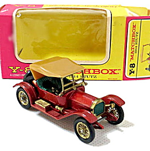 Matchbox Models Of Yesteryear Y-8 1914 Stutz In Box