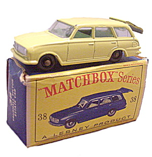 1960s Matchbox 38 Vauxhall Victor Estate Car In Box