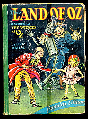 The Land Of Oz, By L. Frank Baum - 1939 Book