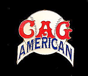 Cag Chicago American Giants Baseball Enamel Pin