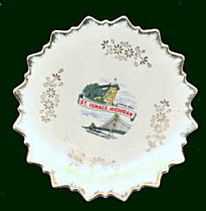 2 1950s St. Ignace Michigan Small Plates