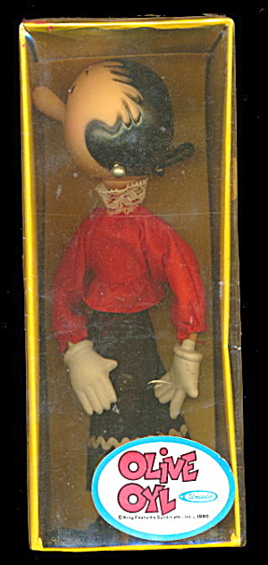 1979 Uneeda Olive Oyl Doll In Box