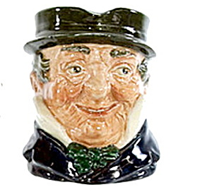 Royal Doulton 'captain Cuttle' Character Toby Jug
