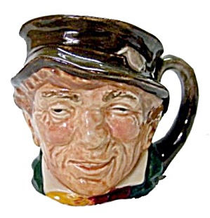 Royal Doulton 'paddy' Mini Character Toby Jug