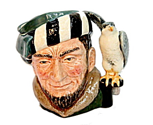 "Royal Doulton 2 3/4"" Toby Mug 'falconer' D6547"