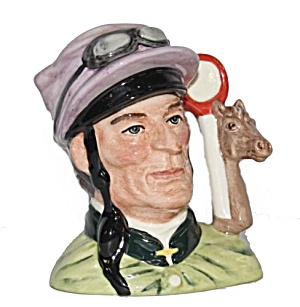 Royal Doulton 'the Jockey' Character Toby Jug