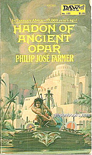 1974 'hadon Of Ancient Opar' Daws Book
