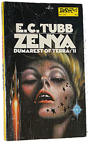 "1974 ""zenya"" Dumarest E.c. Tubbs Ace Book"