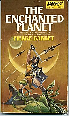 1975 'the Enchanted Planet' Pierre Barbet Book