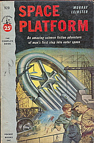 "1953 ""space Platform"" Murray Leinster Book"