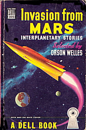 1949 'invasion From Mars' Stories Sci-fi Book