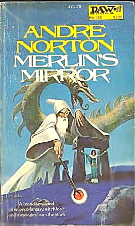 1975 'merlin's Mirror' Andre Norton Sci-fi Book