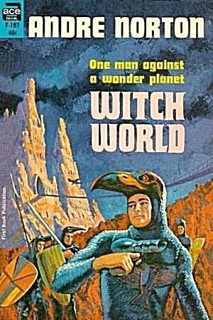1963 'witch World' Andre Norton Ace Paperback