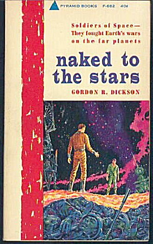 'naked To The Stars' Gordon Dickson Sci-fi Book