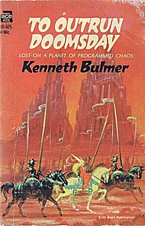 1967 'to Outrun Doomsday' K Bulmer Ace Sci-fi Book
