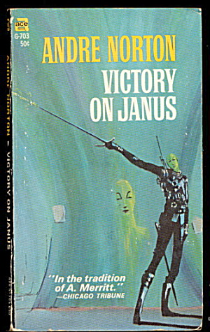 1966 'victory On Janus' Andre Norton Sci-fi Book