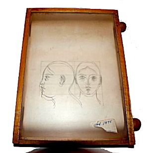 1875 Shepherd's Transparent Slates Drawing Toy