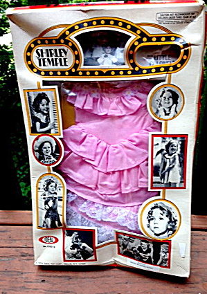 1974 Shirley Temple Little Colonel Outfit Mint In Pckg