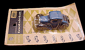 1960s Tootsietoy 1929 Ford Model A Mint On Card