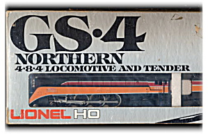 Lionel 4454 Train Gs-4 Northern 4-8-4 Locomotive In Box
