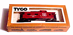 Tyco Atsf Santa Fe 8 Wheel Caboose In Box