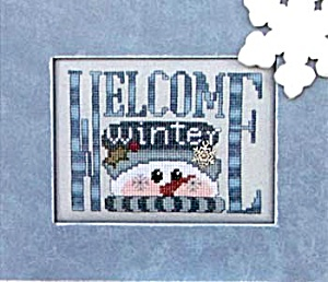 Hinseit 'charmed Welcome Winter' Cross Stitch Chart