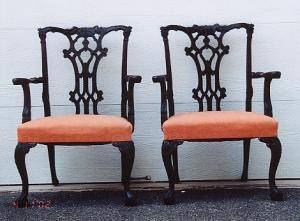 English Furniture Armchairs