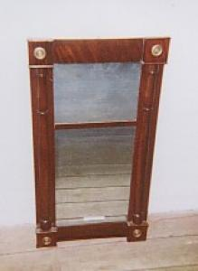 Continental Empire Mahogany Mirror