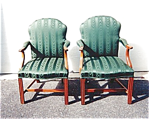 American Federal Style Armchairs