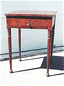 American Mahogany Work Table