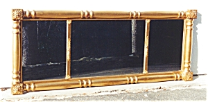 American Three Part Over Mantle Mirror.