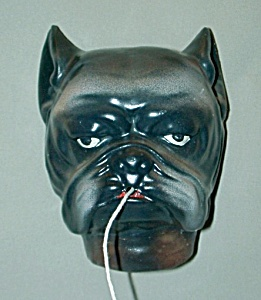 Vintage Dog (Boxer) String Holder