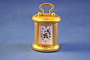 Brass Minnie Carriage Clock