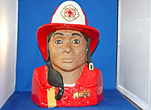 Fire Fighter Cookie Jar