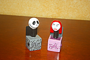 Jack And Sally In The Box Salt & Pepper