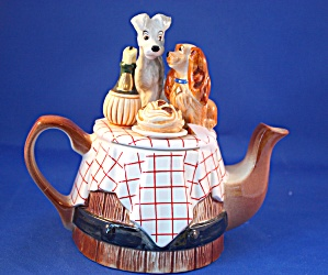 Lady And The Tramp Cardew Teapot