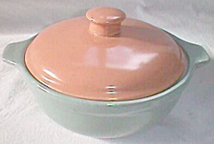 Red Wing Covered Serving Dish Small Casserole