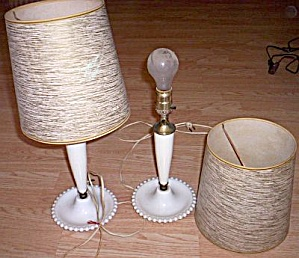 Pair 50's Bed Lamps