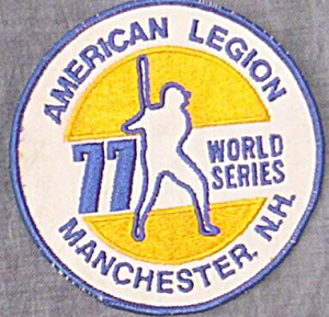 1977 American Legion World Series Baseball Patch