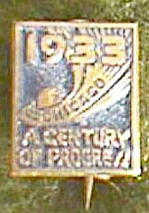 Tiniest 1933 Chicago World's Fair Pin Free Shipping