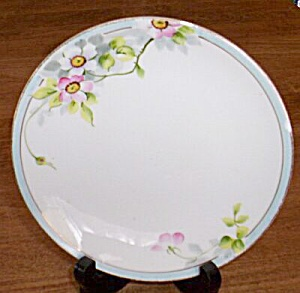 Lovely Nippon Bread Butter Plate Roses