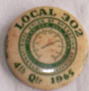 1965 Engineers Union Pin Local 303