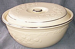 Homer Laughlin Oven Serve 2 1/2 Qt Covered Casserole