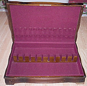 Vintage Holmes & Edwards Silver Chest