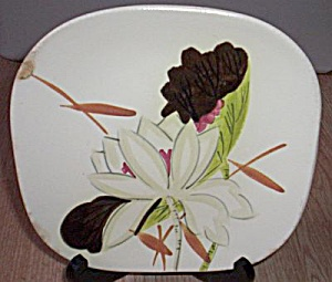 Red Wing Lotus Salad Plate