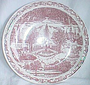 State Of Louisiana Plate By Vernon Kilns