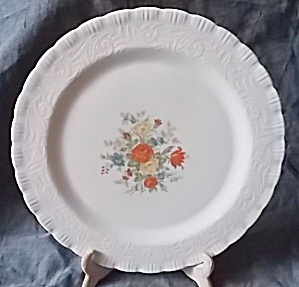 Macbeth-evans Chinex Classic Bouquet Chop Plate