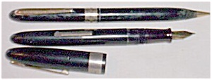 Wearever Monogrammed Fountain Pen & Pencil Set