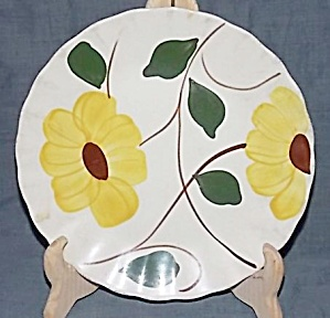 Blue Ridge Pottery Ridge Daisy Salad Plate