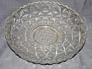 Imperial Glass Mt Vernon Shallow Bowl